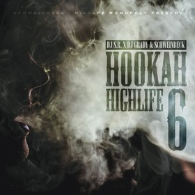 Hookah Highlife 6 DJ S.R. front cover