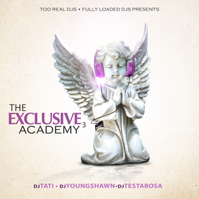 The Exclusive Academy 3 DJ Tati front cover