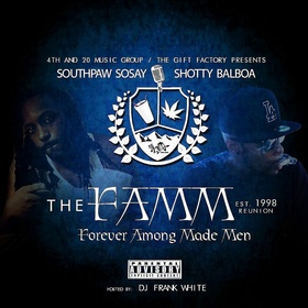The F.A.M.M. Reunion South Paw Sosay front cover