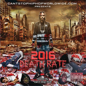 2016 Death Rate Colossal Music Group front cover