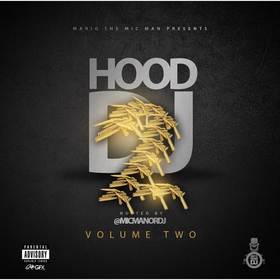 Hood DJ 2 DJ Ruga Rell front cover