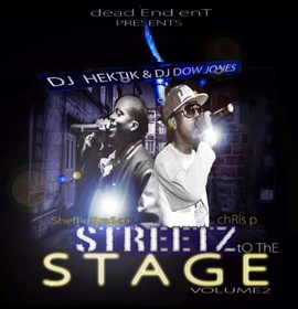 Chris P & Sheffie Brasco - Streets To The Stage 2 DJ Dow Jones front cover