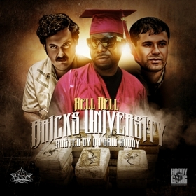 Bricks University Hell Rell front cover
