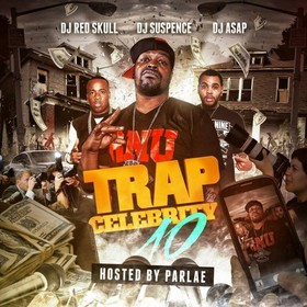 Trap Celebrity 10 DJ Red Skull front cover