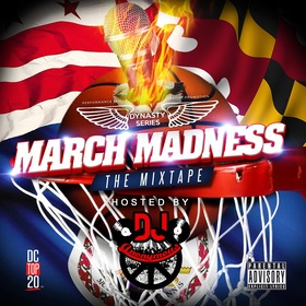 March Madness DJ Anonymous front cover