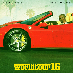 #WorldTour16 w/ @TheRealBSE DJ Wats front cover