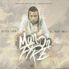 Man On Fire RickStarr front cover