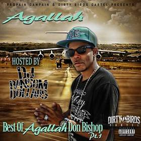 Best Of Agallah Pt.1 Agallah Don Bishop front cover