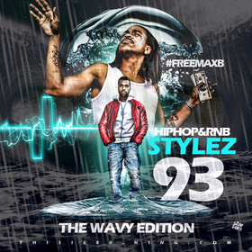 HipHop & Rnb Stylez Vol 93 #TheWavyEdition Various Artists front cover
