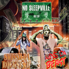 Twin Towers Presents: No Sleepville Vol. 1 Various Artists front cover