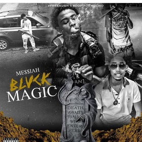 Blvck Magic Me$$iah front cover