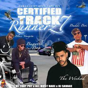 Certified Track Runnerz 7 Dj Tony Pot front cover