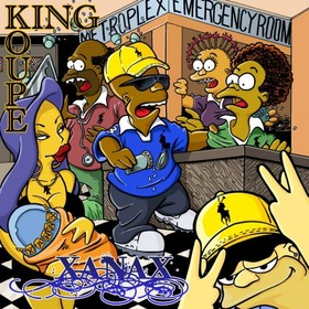 Xanax King Koupe front cover