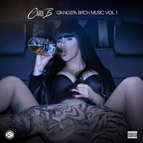 Gangsta Bitch Music Vol. 1 Cardi B front cover