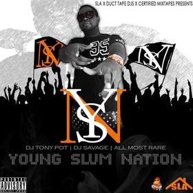 Young Slum Nation Young Slum Juice front cover