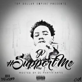 "JV ""Support Me"" MellDopeAF front cover"