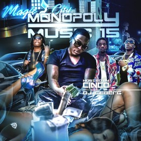 Monopoly Music 15 (Hosted By Johnny Cinco) DJ Iceberg front cover