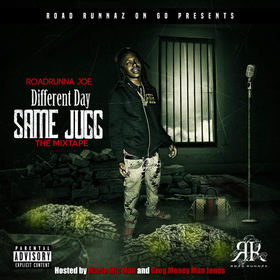 Different Day Same Jugg RoadRunna Joe front cover