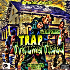 Trap Tramatized DJ King Lo front cover