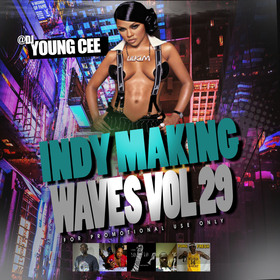 DJ Young Cee- Indy Making Waves Vol 29 Dj Young Cee front cover