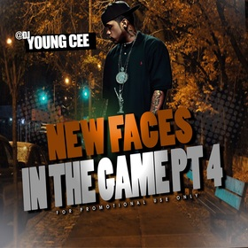 DJ Young Cee- NEW FACES IN THE GAME pt4 Dj Young Cee front cover