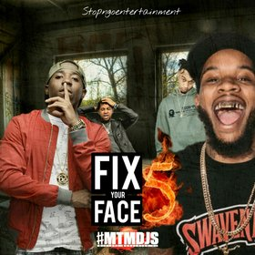 Fix Ya Face Stupid Vol.5 DJ Stop N Go front cover