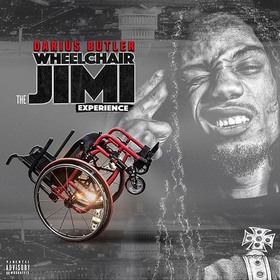 The Wheelchair Jimi Experience Da Legend Darius Butler front cover