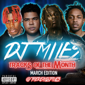 Tracks of the Month (March Edition) (2016) DJ Miles front cover