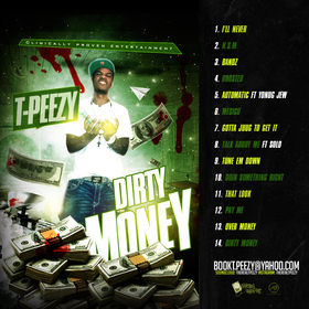 T.PeeZy - Dirty Money DJ ASAP front cover