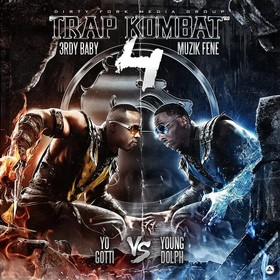 Trap Kombat 4 (Yo Gotti Vs. Young Dolph) 3rdy Baby front cover
