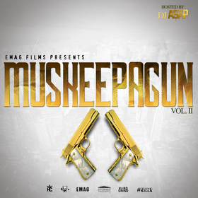 MusKeepAGun vol.2 DJ ASAP front cover