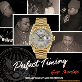 Perfect Timing Guap Tarantino front cover