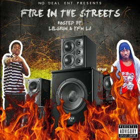 Fire in The Streets Bankroll Juvi  front cover