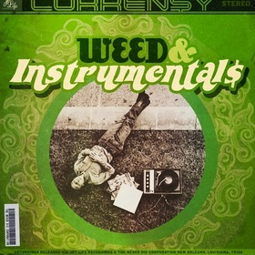 Weed & Instrumental$ Curren$y front cover