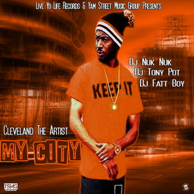 My City Cleveland The Artist front cover