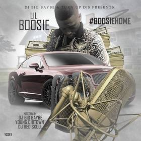#BOOSIEHOME DJ ASAP front cover