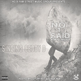 No 1 Said Ceddy D front cover