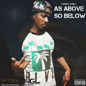 As Above So Below [EP] Corey Coka front cover