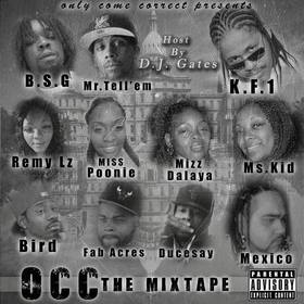 OCC  The Mixtape OCC Records front cover