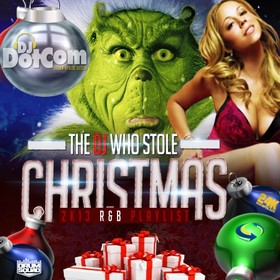 The DJ Who Stole Christmas Dj E-Dub front cover