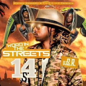 Word In The Streets 14 DJ S.R. front cover