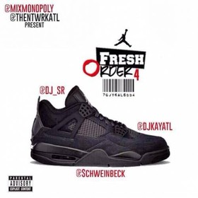 Fresh Order 4 DJ S.R. front cover