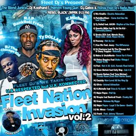 Fleet Nation Invasion Vol 2 Various Artists front cover