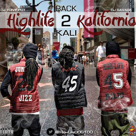 Highlife Kalifornia 2: Back 2 Kali Highlife ODG front cover