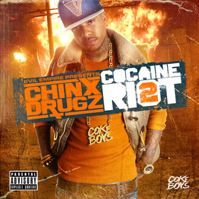 Cocaine Riot 2 Chinx front cover