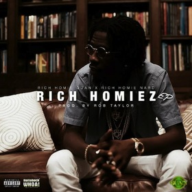 Rich Homiez Rob Taylor front cover