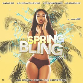 Spring Bling Vol 1 DJ Boss Chic front cover