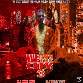 We Own The City 3 DJ Nuk Nuk front cover