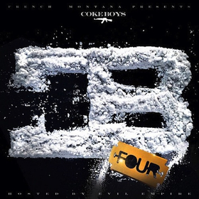 Coke Boys 4 French Montana front cover