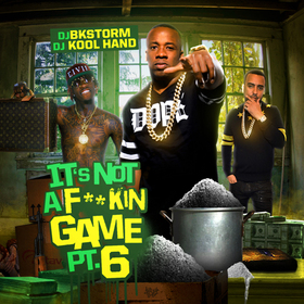 It's Not A F*ckin Game 6 DJ BkStorm front cover